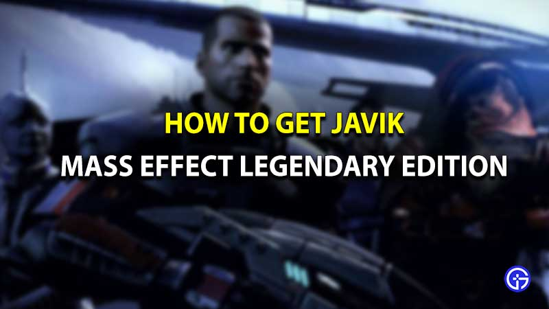 Mass Effect Legendary Edition Javik