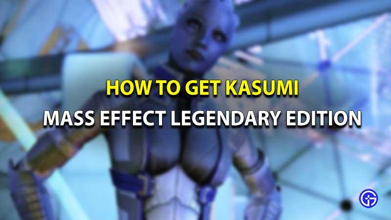 Mass Effect Legendary Edition Kasumi
