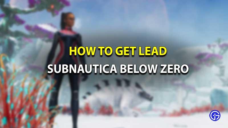 Subnautica Below Zero Lead