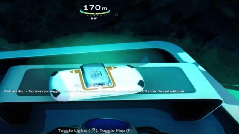 Subnautica Below Zero Rebreather