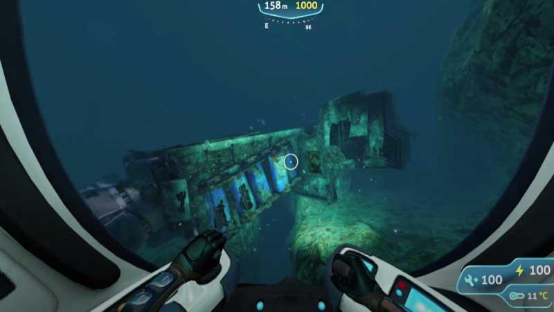 Subnautica Below Zero Deep purple vents