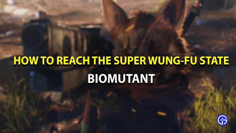 Biomutant Super Wung-Fu