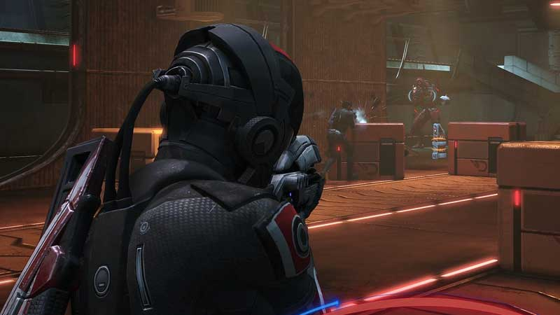 how to swap and change weapons mass effect legendary edition