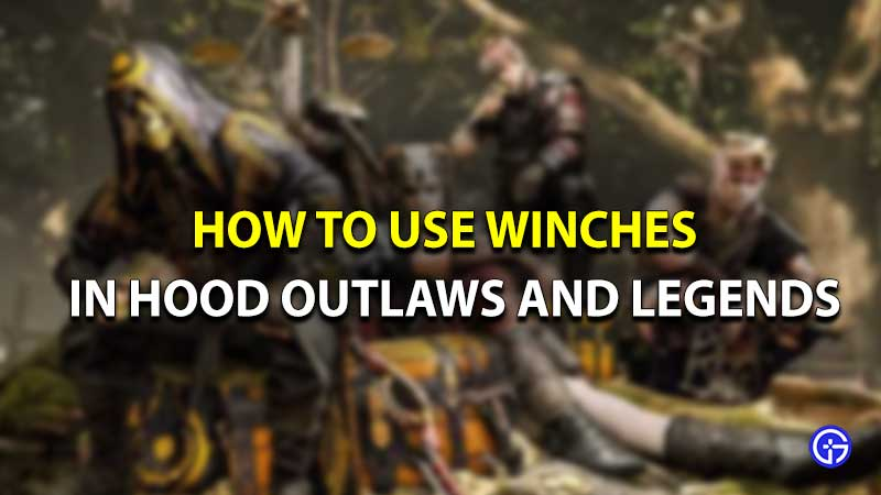 Hood outlaws and legends winches