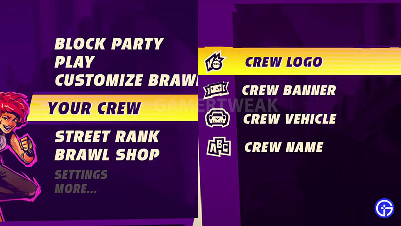 knockout city how to get free crew items