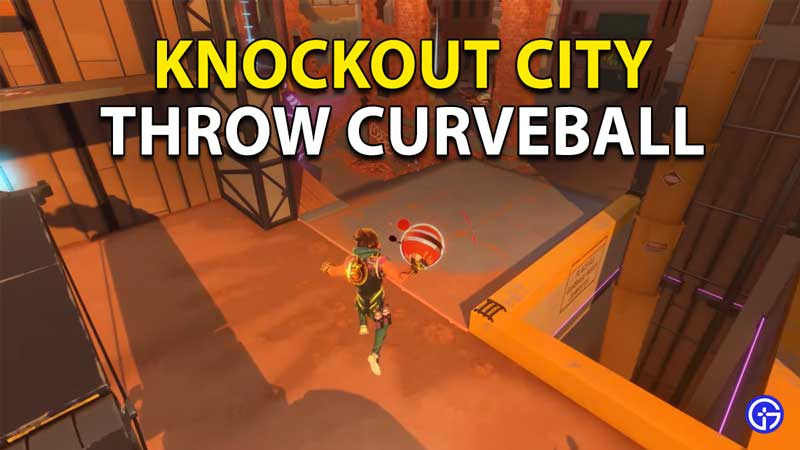 Knockout City: How To Throw A Curve Ball