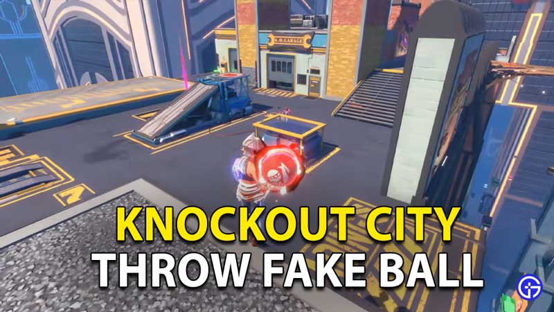 How To Fake A Throw In Knockout City