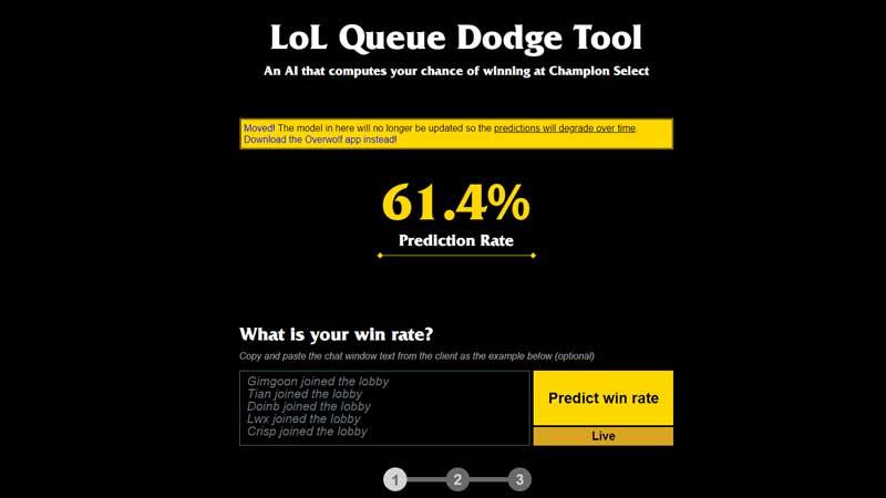Lol Dodge Tool Website