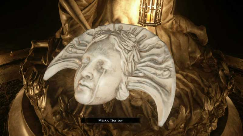 Mask of Sorrow Location