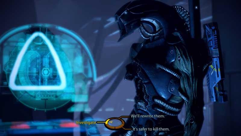 Mass Effect 2 Rewrite Geth