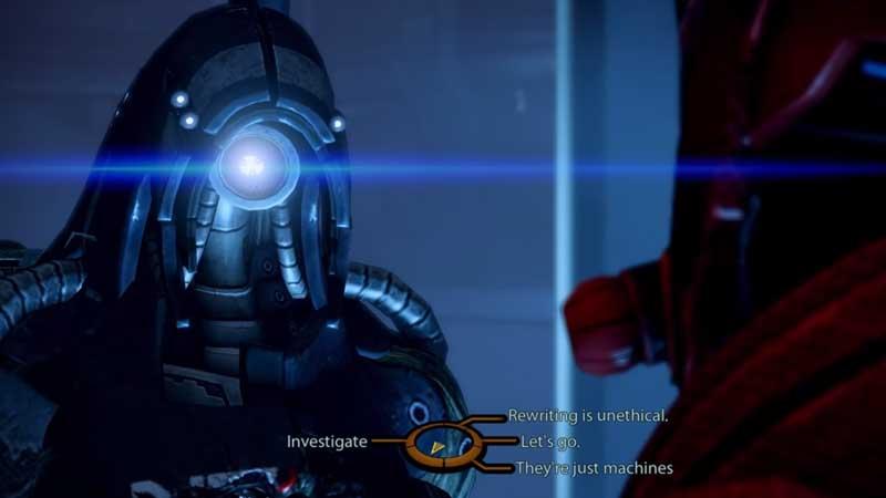 Mass Effect 2 Destroy Geth