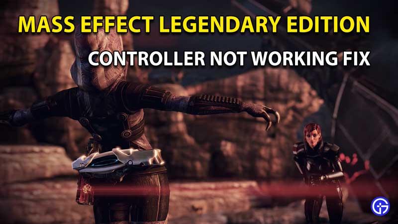 Mass Effect Legendary Edition PC Controller Not Working Fix