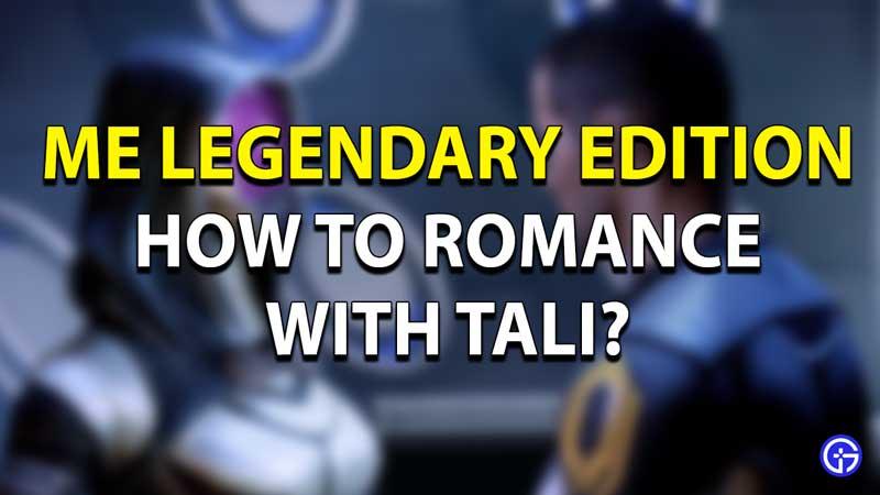 Mass Effect Tali Guide