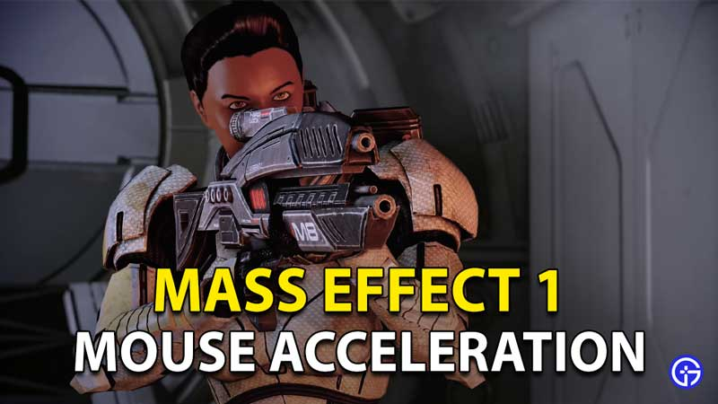 How to Fix Mass Effect Legendary Edition Mouse Acceleration