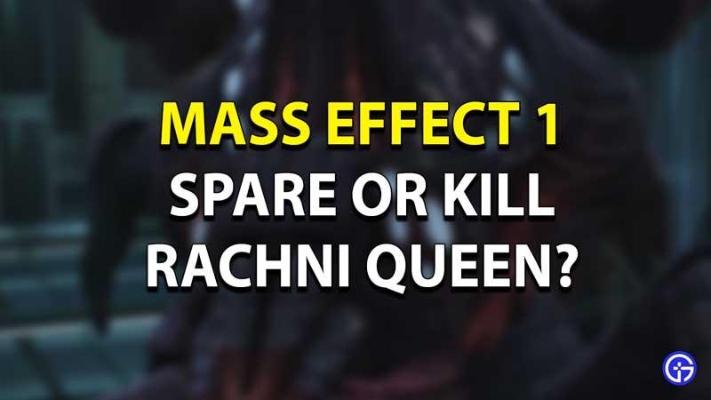 Mass Effect Ranchi Queen