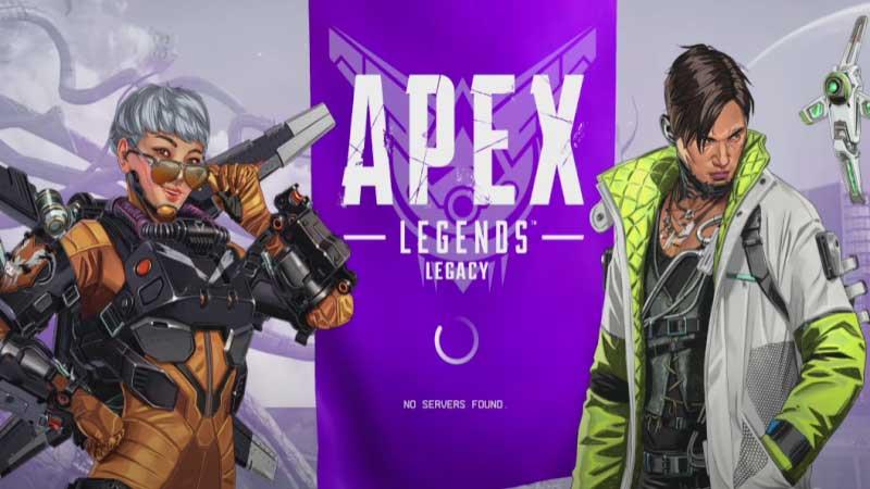 Apex legends no servers found fix