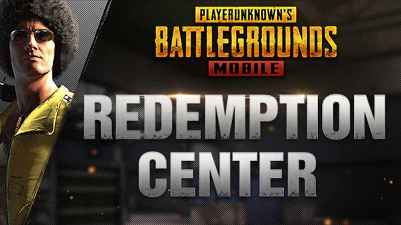 pubg mobile redemption center