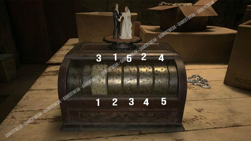 RE 8 Music Box Puzzle