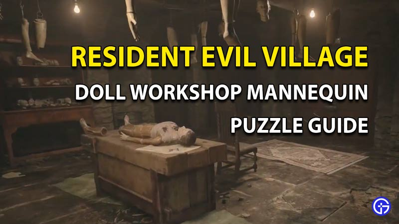 How To Solve The Doll Workshop Mannequin Puzzle