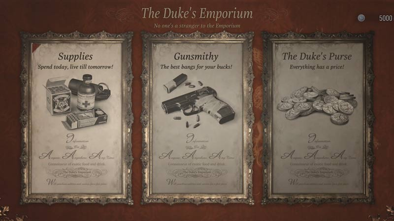 Best Resident Evil Village Upgrades: What To Buy From Duke's Shop