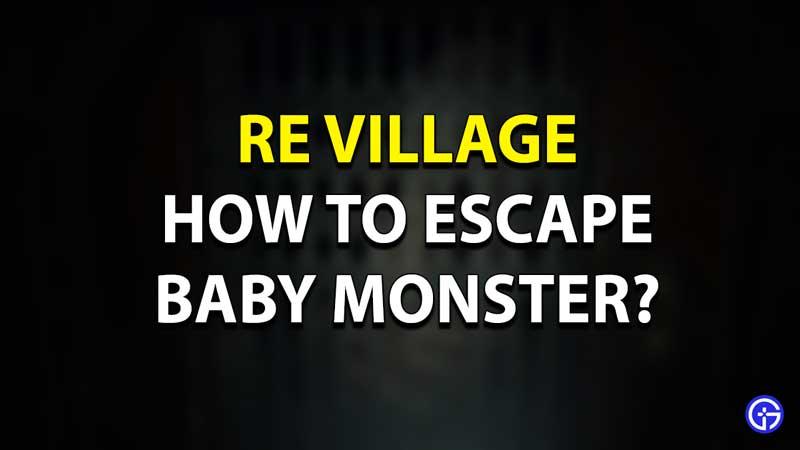 RE Village Escape Baby