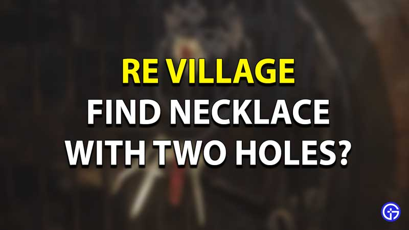 Necklace with Two Stone Location Guide