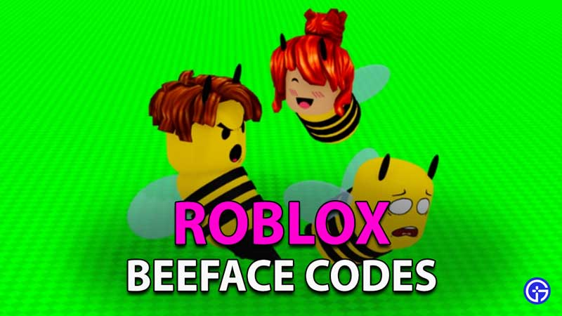 Redeem Roblox Beeface Codes