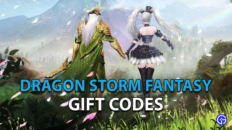 Redeem Dragon Storm Fantasy Gift Codes