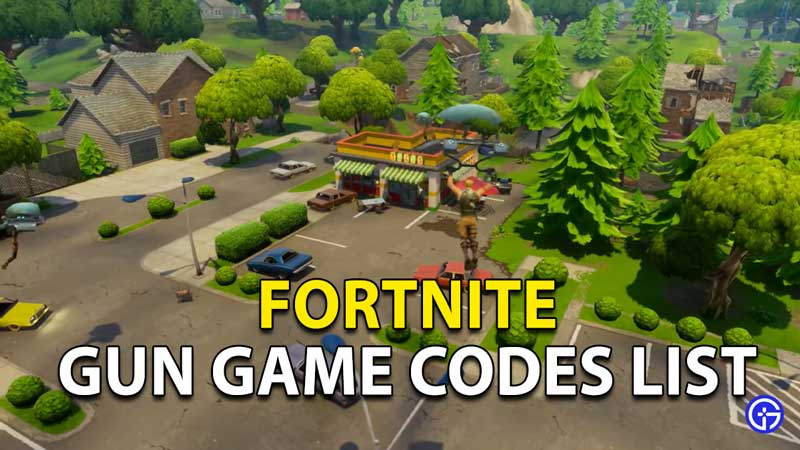 Fortnite Gun Game Codes List