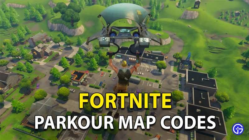 Best Fortnite Parkour Map Codes