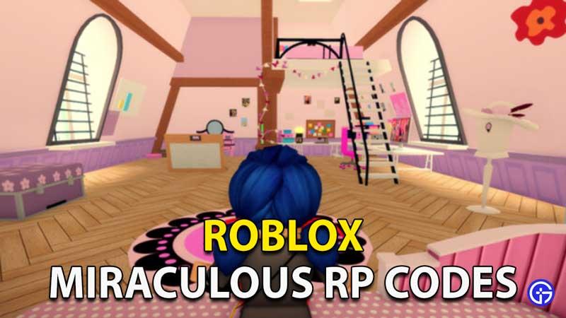 Redeem Roblox Miraculous RP Codes