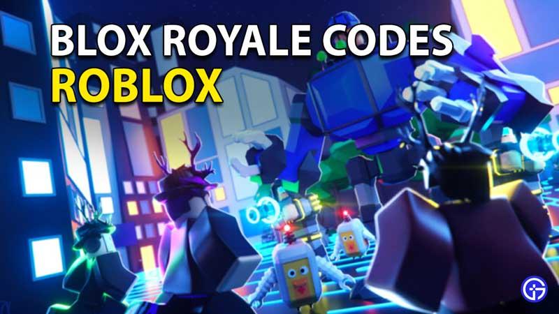 Redeem Roblox Blox Royale Codes