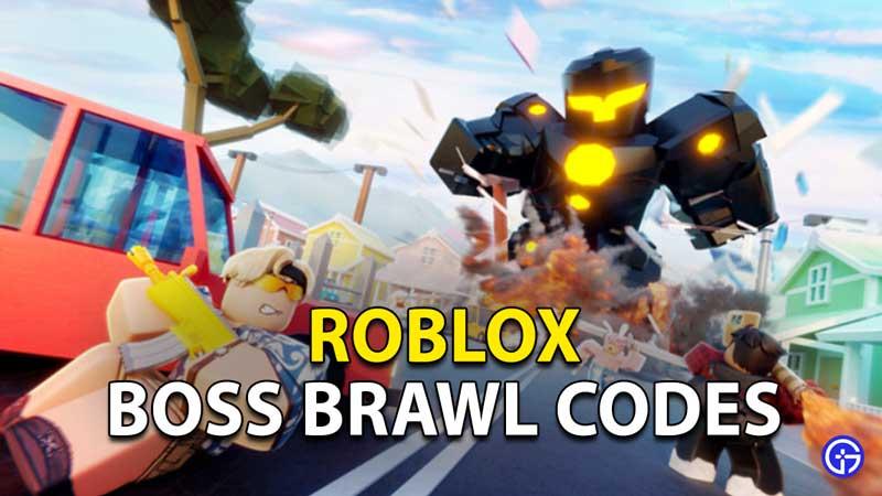 Redeem Roblox Boss Brawl Codes