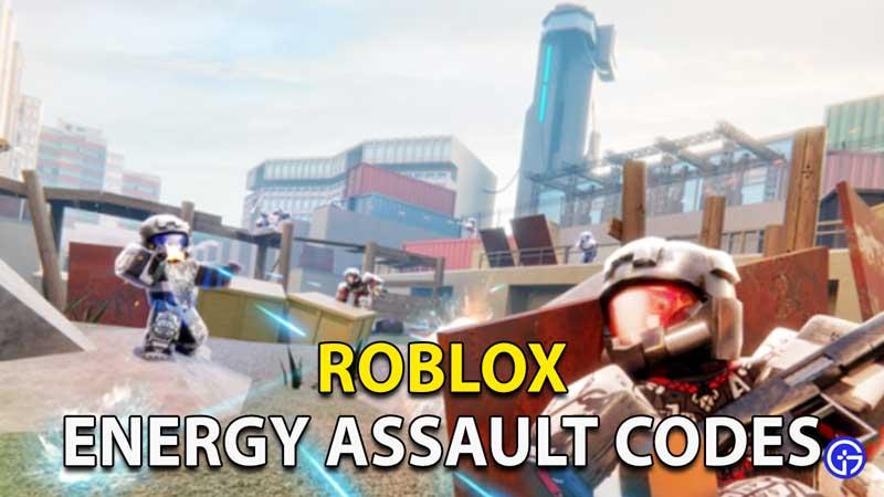 Redeem Roblox Energy Assault Codes