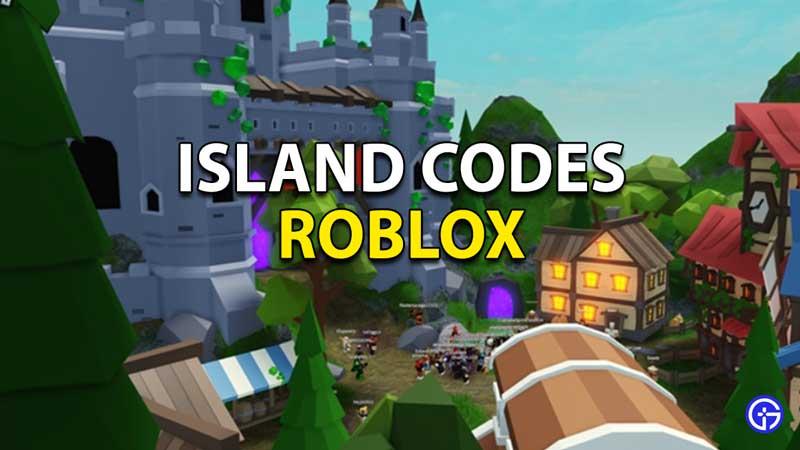 Redeem Roblox Islands Codes