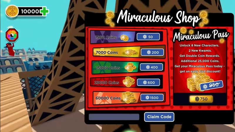 Roblox Miraculous RP Codes