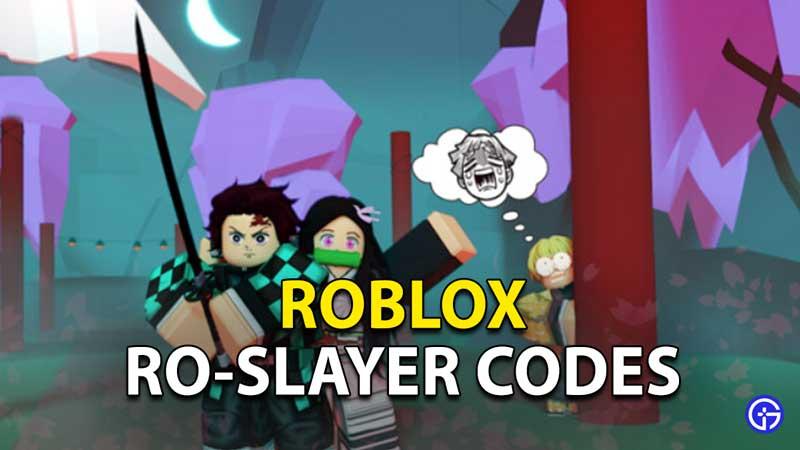 Redeem Roblox Ro-Slayers Codes