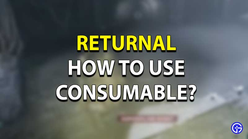 How to Heal in Returnal?