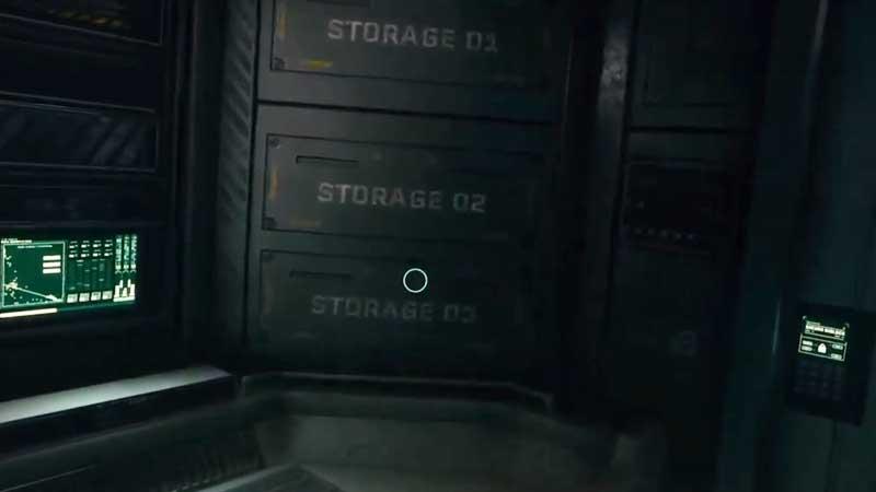 Returnal Suit Storage