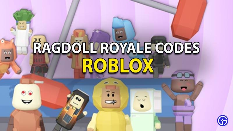 Redeem Roblox Ragdoll Royale Codes