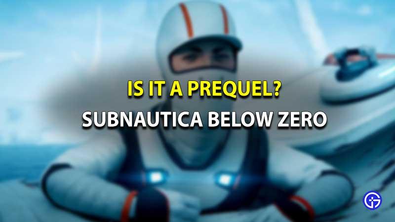 Subnautica Below Zero Prequel
