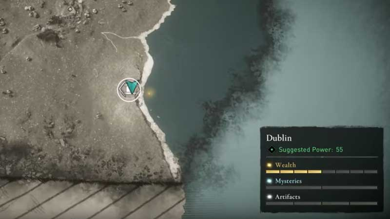 Dublin Hard Map AC Valhalla