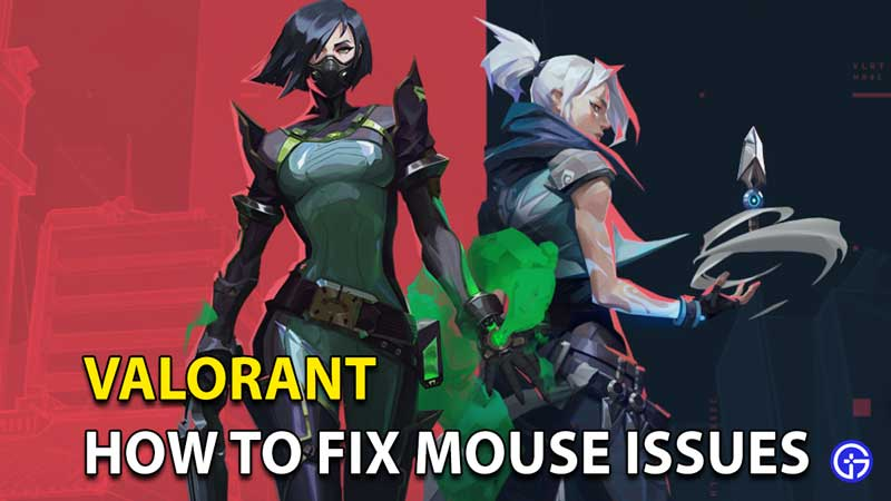 Valorant Mouse Issues: Freezing, Clicks Not Registering Easy Fix Solution