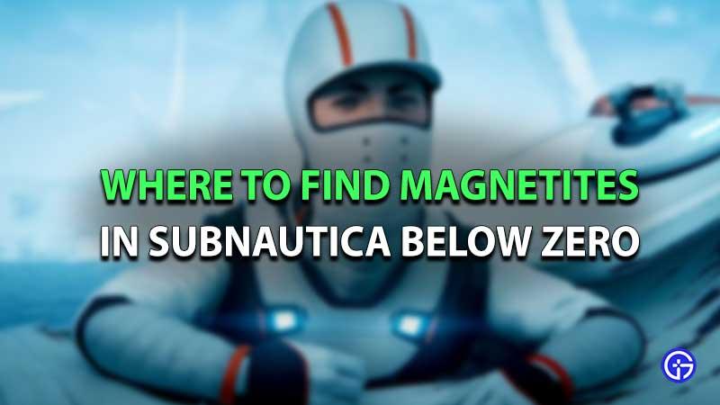 Magnetites Subnautica Below Zero