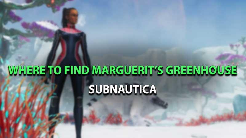 Subnautica Below Zero Marguerit Greenhouse