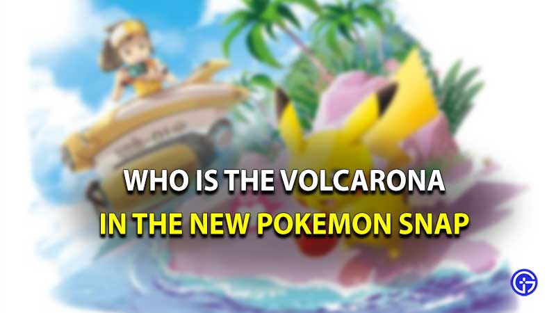 Pokemon snap Volcarona