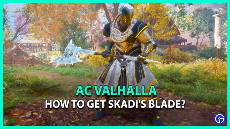 AC Valhalla Skadi's Blade Mastery Challenge