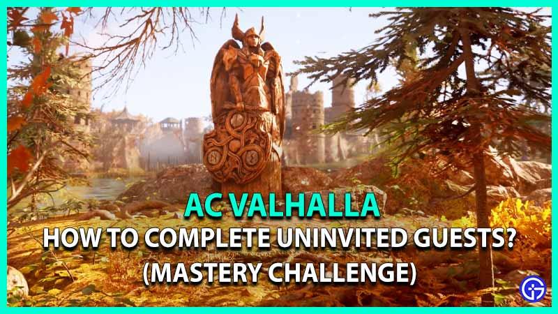 AC Valhalla Uninvited Guests Start Complete