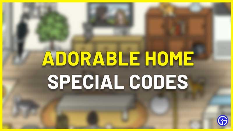 adorable home special codes