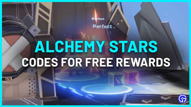 All Alchemy Stars Codes List